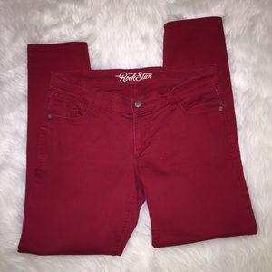Old Navy Rockstar Crop Jeans , 12